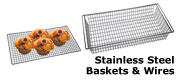 Click for Mackies Chrome Wires and Baskets