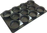Mackies football shaped pie trays - PTF406 / PTF457